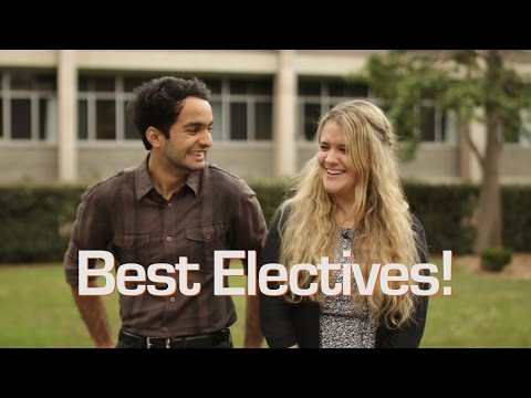 Electives at the University of Newcastle