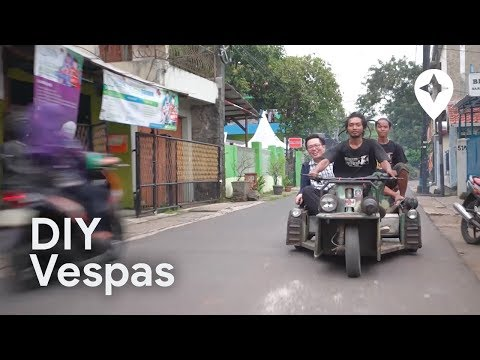 Riding DIY Vespas in Jakarta - For a Day, Ep. 15