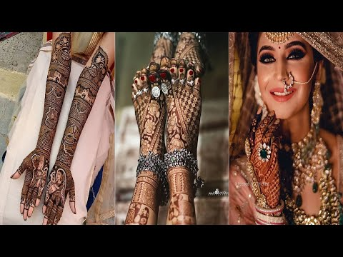 Mehndi Bridal Design Latest : Latest indian bridal mehndi designs for your wedding full hand