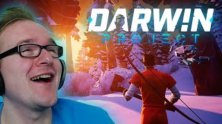Battle Royale mit Dhalu als Gott: Darwin Project