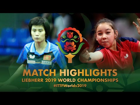 Nguyen Khoa Dieu Khanh vs Anna Hursey | 2019 World Championships Highlights ( Group )