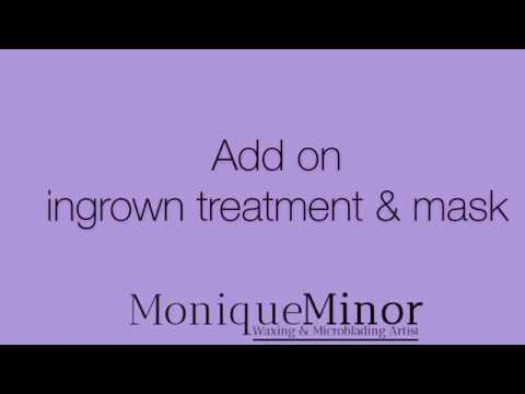 Ingrown hair treatment w mask