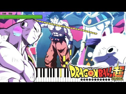 [FULL] ULTIMATE BATTLE! THE TRUE FINAL SHOWDOWN! - Dragon Ball Super OST  (Piano Tutorial)