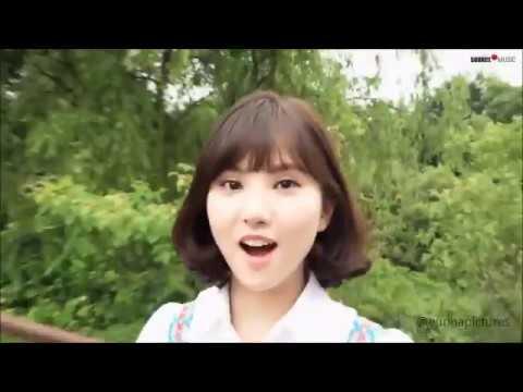 Gfriend Duh lucunya ketawa Eunha♥♥