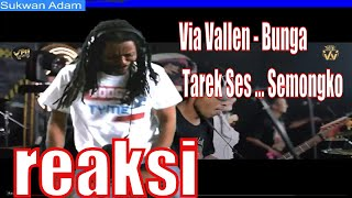 Download lagu Via Vallen - Bunga - Tarek Ses ... Semongko ( Official MV Viva Music Indonesia ) Reaction U.S.