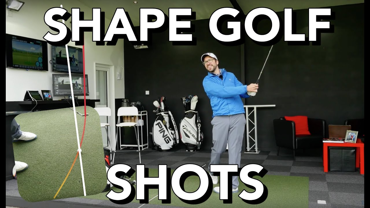 how to draw fade a golf shot