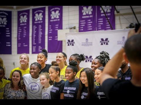 Los Angeles Sparks and Marlborough School Meet The Pros Event