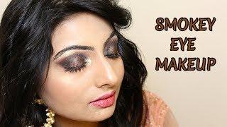 SMOKEY EYE MAKEUP || HD PARTY MAKEUP