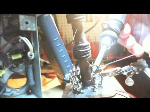 Canadian General Electric KL-96 Video #19 - IF Transformer Repairs 3