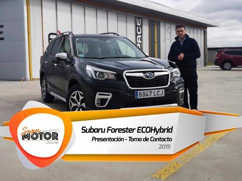 Presentación del Subaru Forester ECO Hybrid / Toma de Contacto / SuperMotorOnline.com