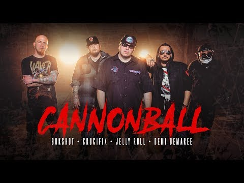Bukshot Ft. Crucifix, Jelly Roll & Demi Demaree - Cannonball