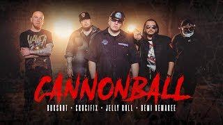 Смотреть клип Bukshot Ft. Crucifix, Jelly Roll & Demi Demaree - Cannonball