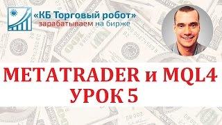 Метатрейдер и MQL4. Урок 5. Предопределенные переменные