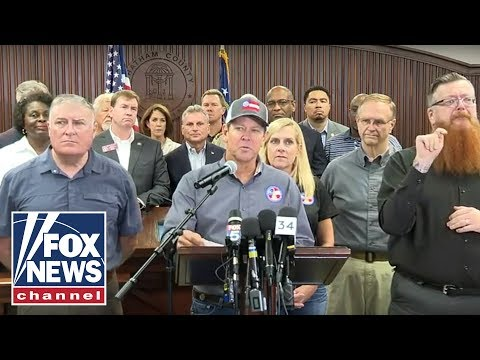 Georgia Gov. Kemp Holds A Briefing On Hurricane Dorian