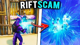 La ARNAQUE DE LA RIFT! (Scammer Obtient Scammed) À Fortnite Save The World