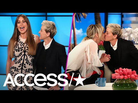 Sofia Vergara & Portia De Rossi Surprise Ellen DeGeneres For Her 60th Birthday  Access