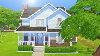 BLUE SUBURBAN DREAM // The Sims 4: Speed Build