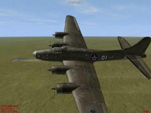 B-17 vs FW-200 in IL-2 1946, when I pilot the FW-200