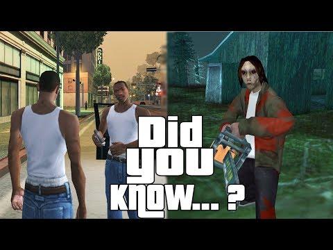 GTA San Andreas Secrets and Facts 2