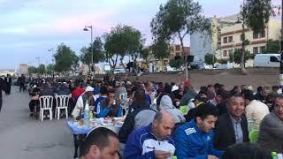افطار جماعي : مرحبا بضيوف برج بوعريريج
