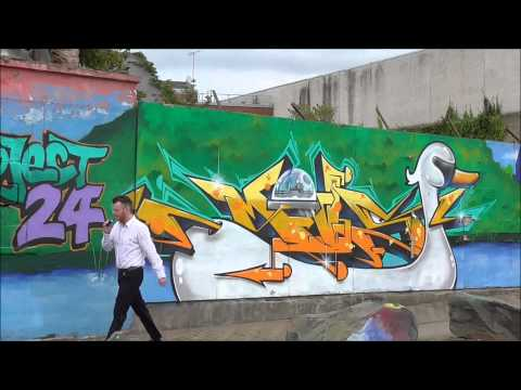 BANGOR SEAFRONT Street Art/ Graffiti