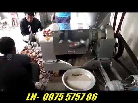 Máy ép dầu Guangxin 95WK - YouTube