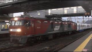 819系甲種輸送 門司駅2019年1月10日