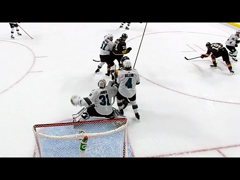 Golden Knights' OT goal waved off after interference review