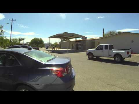 Sells Indian Hospital Parking Lot, Sells, Arizona, Tohono O'odham Indian Reservation, GP040937