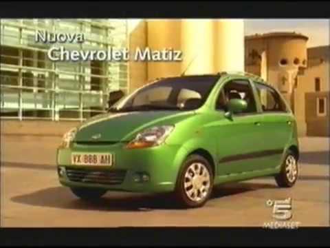 Pubblicita Chevrolet Matiz Spot 2005 Di Canale 5 Rete Mediaset