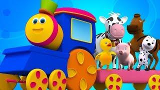 Kids Tv Deutschland - Bob Zug ging an die farm   Deutsch Kinderlieder   Bob Train Went To The Farm