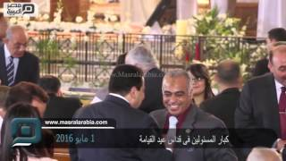 مصر العربية   كبار المسئولين فى قداس عيد القيامة