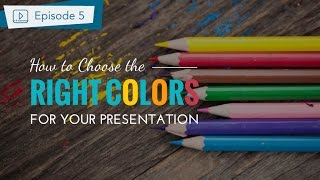 How To Make a Presentation Part 2 - Choose the Best Color For Your Slides