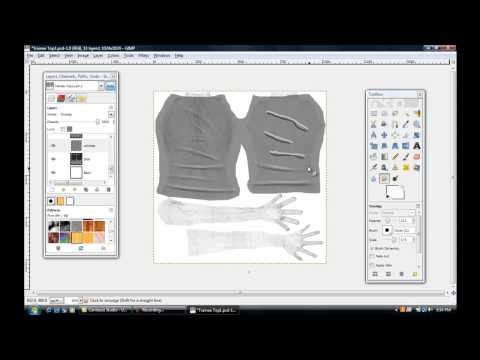 second life templates for gimp - sl clothing tutorial pt1 funnycat tv