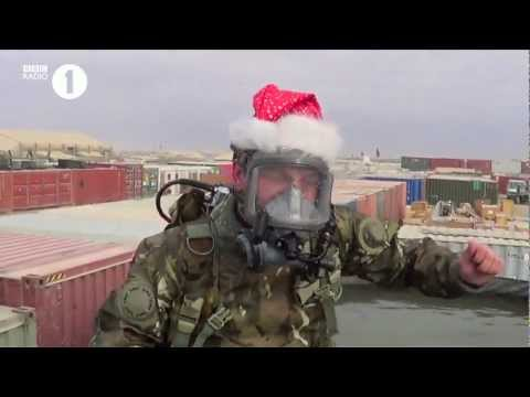 British Armed Forces and BBC Radio 1 say Merry Christmas Everyone