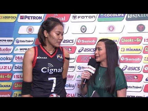 Match MVP: Mylene Paat   PSL All-Filipino Conference 2018