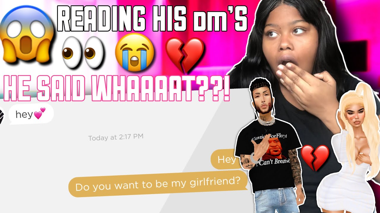 READING MY BOYFRIEND'S IMVU MESSAGES! 😱 You wont believe what I found ! 😭💔
