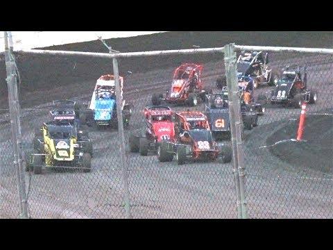 600 Micro Sprint MAIN 6–25-17 Petaluma Speedway