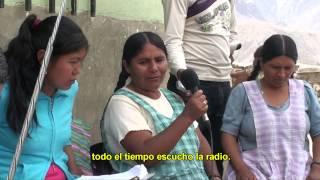 VIDEO DOCUMENTAL, FORMACION DE MUJERES CAMPESINAS E INDIGENAS EN EL SUR DE BOLIVIA