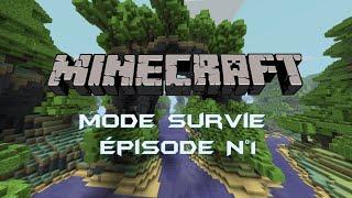 LIVE Minecraft /#1 les nouvelle aventure de Nico et Léon.