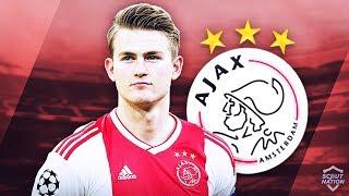 Matthijs De Ligt   Insane Defensive Skills, Passes & Goals   2019 (hd)