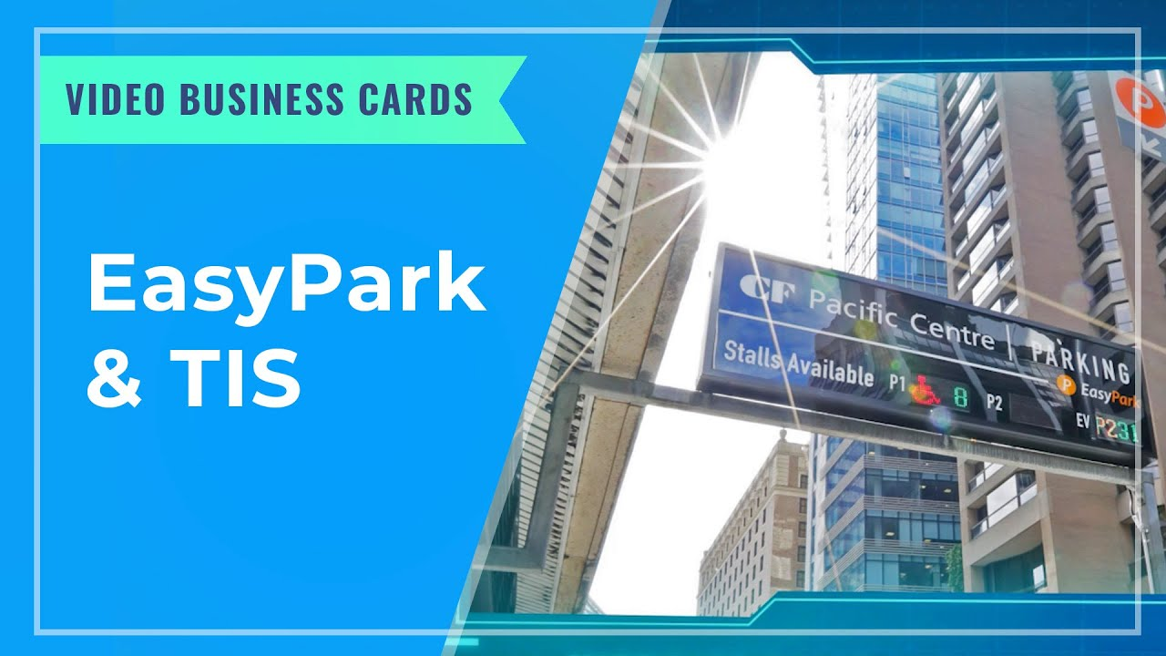 VIDEO BUSINESS CARDS: EasyPark & TIS