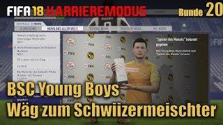 FIFA18 Young Boys -20 -Ende Winterpause und los gegen St.Gallen [schweizerdeutsch ]