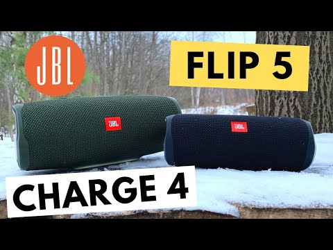 JBL Flip 5 или Charge 4 | Какую колонку выбрать в 2020 | лучшая блютуз
