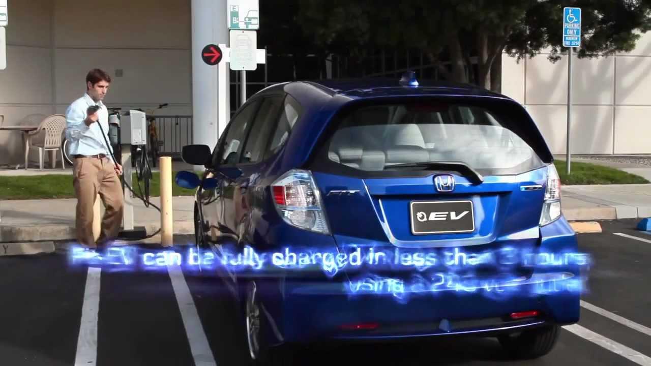 Honda Fit EV Battery Electric Car  YouTube