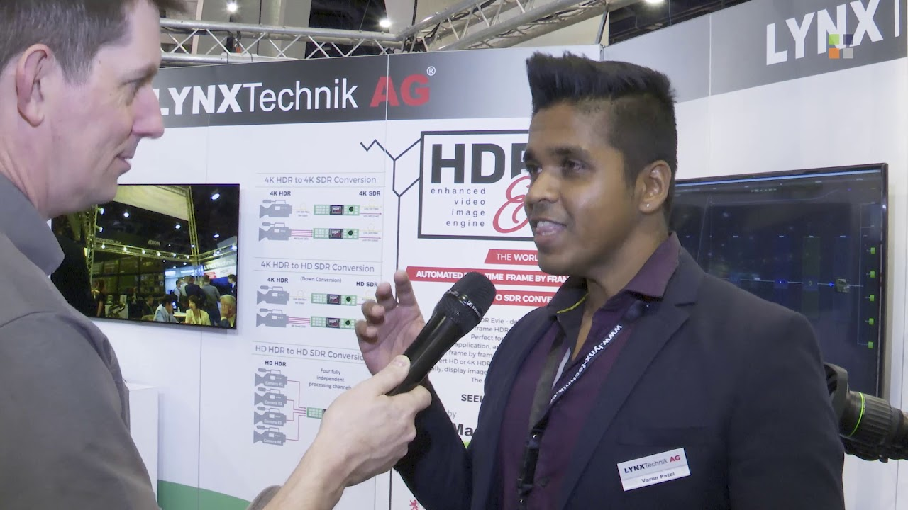 Lynx Technik Evie 4k HDR to SDR Conversion at NAB 2019