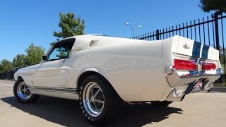 1967 Shelby GT500 tunnel sound and acceleration