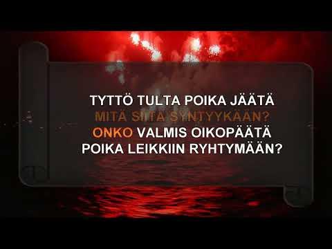 TYTTÖ TULTA, POIKA JÄÄTÄ - karaoke
