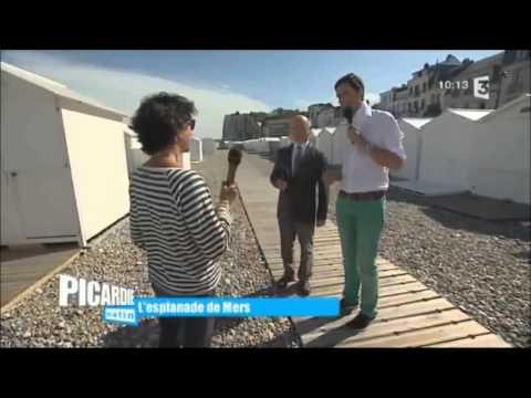 France 3  - Picardie Matin en direct à Mers les bains - 16 juin 2015