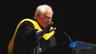 Bernie Sanders Explains What a Progressive Foreign Policy + National Security Strategy Look Like Major (read: presidential) foreign policy address given at Westminster College, Missouri on 9/21/17. More on Sanders' approach to foreign policy: ..., From YouTubeVideos